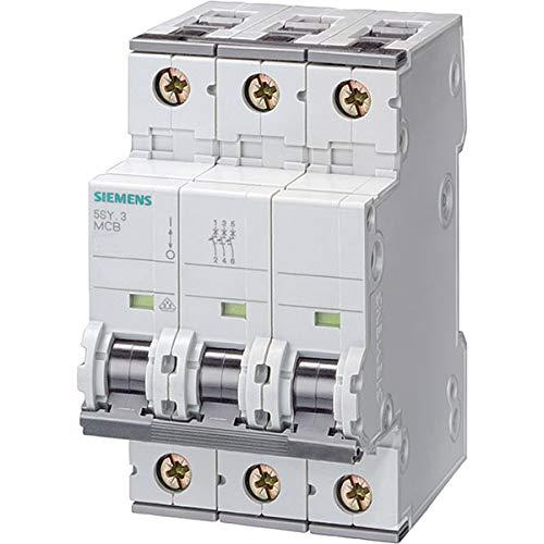 Siemens 5sy6/ /Automatik-Schalter 70/6/KA B Curve 3/Polen 16/a