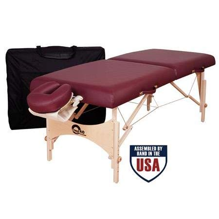 One Portable Massage Table Package, Bluegrass Upholstery ()