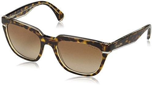 Ralph Crystal - Ralph by Ralph Lauren Women's Plastic Woman Square Sunglasses, Tortoise Crystal, 53 mm