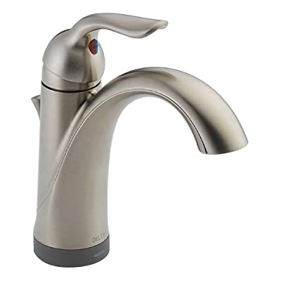 Delta Lahara 15938T Single Handle Bathroom Sink Faucet with Touch2o Technology