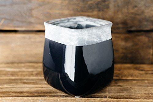 Hinterland Trading Black Ceramic Soren Vase
