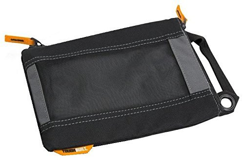 ToughBuilt - (3 Pack) Fastener Tool Bags/Tool Pouches, Top Mounted Zippers, Quick-carry Handles, Heavy-duty Mesh Windows, Tough Grommets (TB-94-M-3) by ToughBuilt