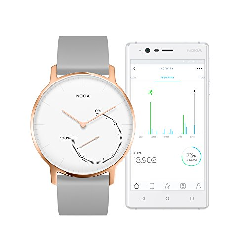 Nokia health 3700546704130 Nokia Steel Limited Edition - Activity & Sleep Watch, Rose Gold by Nokia health (Image #3)