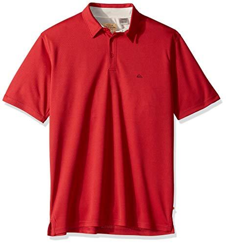 Quiksilver Waterman Men's Water 2 Polo Shirt, Cardinal XL