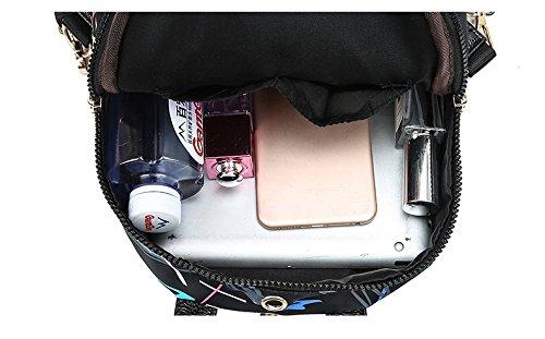 étudiant capacité imperméable en sac grande bandoulière à de C sac nylon dos collège main imprimé à à à voyage sac dos sac Femmes sac wOpX0qw