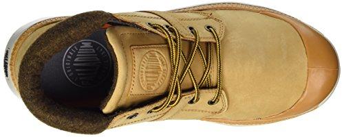 Cuff Pallaville Combat Boot Palladium Amber L Hi Gold Men's qZx5nwH6t