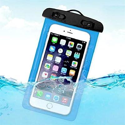 Haoyushangmao Funda impermeable para teléfonos móviles con ...