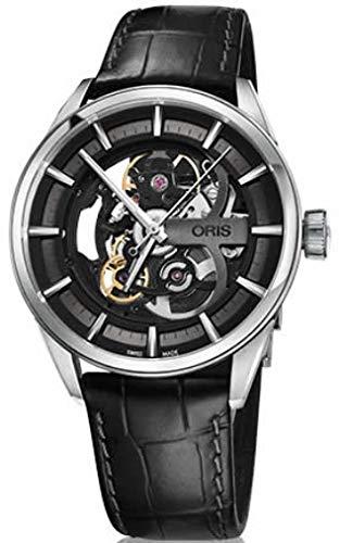 Oris Reloj Analógico para Hombre de Automático con Correa en Cuero OR734-7714-4054