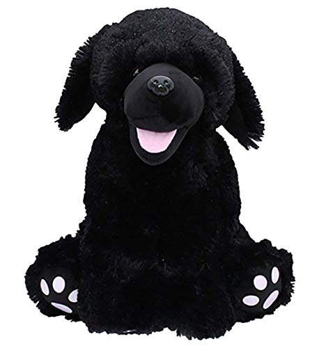 (Cuddly Soft 16 inch Stuffed Black Lab ....We stuff 'em...you love 'em! )