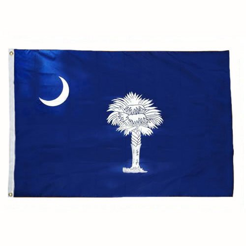 South Carolina Flag 3X5 Foot Nylon (Mart Furniture Carolina)