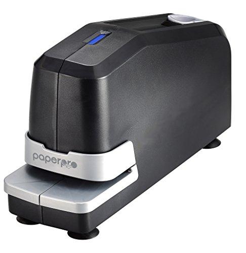 PaperPro 02210-220V-EU - Grapadora electrica, con compartimiento magnetico, 30 hojas, color negro