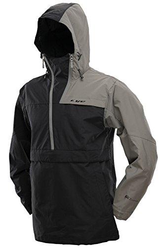 Pullover Jacket - Black/Gray (Large)