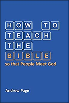 Book How to Teach the Bible so that People Meet God