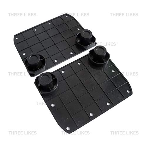 D-Sporting Goods 2 Pcs Hoverboard Rubber Sensor Gyroscope Pad Pedals Replacement Kit Set for Smart 6.5