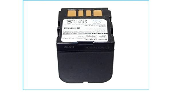 Battery Replacement for JVC GR-D290AH GR-D290US GR-D295US GR-DF420 GR-DF430US GR-DF450US GR-DF470 GR-DF470US GR-DF550US GR-DF565 GR-DF570 GR-DF590 GR-X5