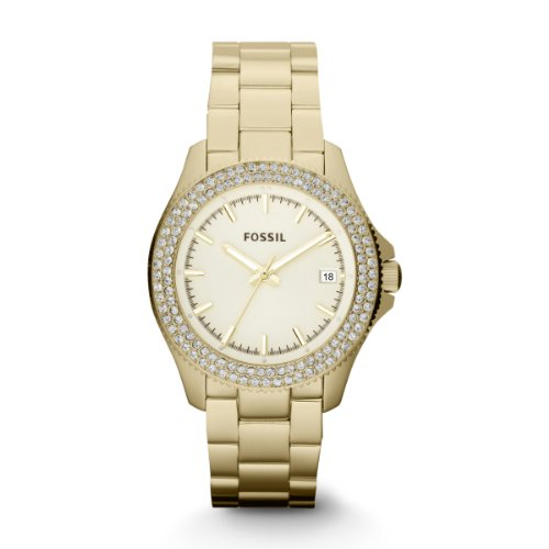 Fossil Watches AM4453 GOLD RETRO TRAVELER