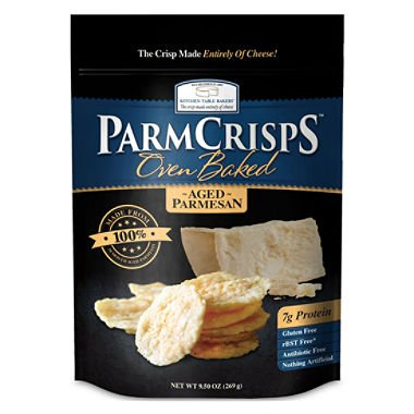 ParmCrisps (9.5 oz.) PACK of TWO Oven Baked (Parmesan Crisps)