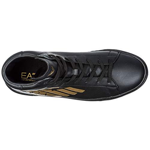 Nero Alte Ea7 Emporio Armani In Uomo Sneakers Pelle Scarpe Nuove xfgw4vPq