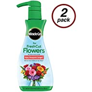 Miracle-Gro for Fresh Cut Flowers, 8 oz., For All Bouquets and Cut Flowers, 2-Pack
