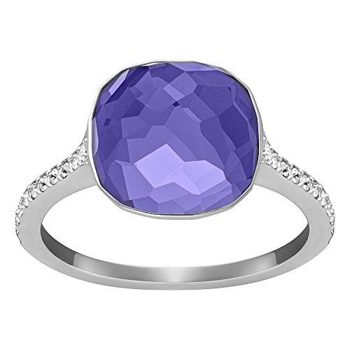 Swarovski Dot Purple Ring