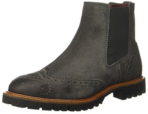 Marc OPolo Chelsea Boot 11025001301 Damen Chelsea Boots Grau (Dark Grey)