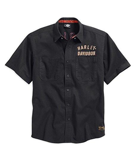 Harley-Davidson #1 Woven Shirt 99036-15VM Herren Shirt