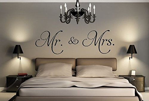 Mr. & Mrs. Decal 11x 23