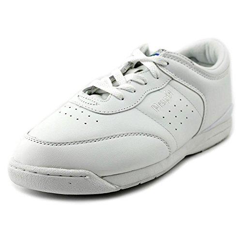 Propet Women's Life Walker Shoe White 9 W (D)
