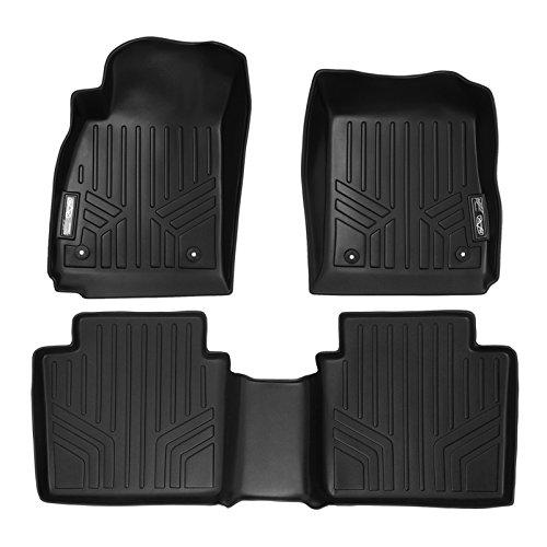 MAXFLOORMAT Floor Mats for Chevrolet Impala (2014-2015) Complete Set (Black)
