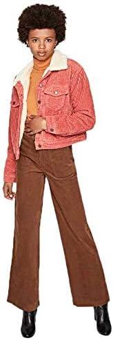 Pepe Jeans - Tess Cord - Rosa - Blouson Femme