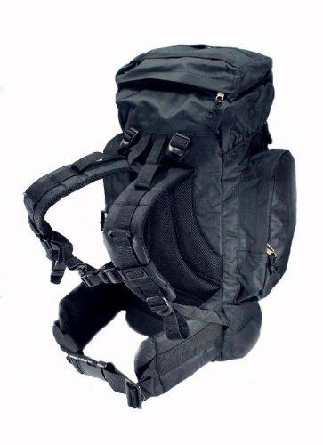 Explorer ACU Digital Camo 45L Rio Grande Hiking Military Style Tactical Backpack 24x18x8 (BigBackpackAM20BK3)