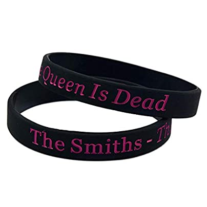 Silicone Wristbands with Sayings The Smiths Band Rubber Bracelets for Adults and Kids Motivation Set Pieces Estimated Price £19.74 -