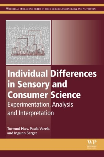 Individual Differences in Sensory and Consumer Science: Experimentation, Analysis and Interpretation (Woodhead Publishing Series in Food Science, Technology and Nutrition) - Priori Series