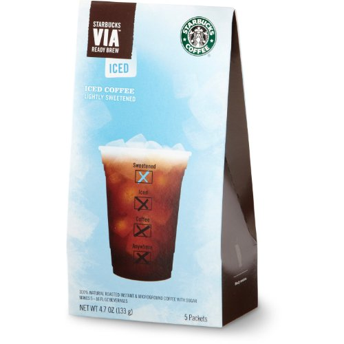 Starbucks VIA Iced Coffee by Starbucks Coffee - 10 Packs by Starbucks