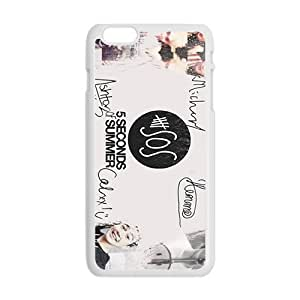 5 Seconds Of Summer Fashion Comstom Plastic case cover For Iphone 6 Plus