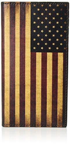 Rodeo Wallet - Nocona Belt Co. Unisex-Adult's Nocona Vintage Flag Rodeo Wallet, multi/color