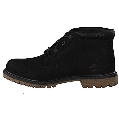 de Zapatos cuero Classic Gum mujer Black A1k9m para Nellie Timberland Chukka xqwZpg646