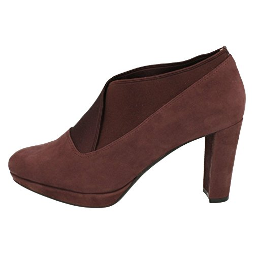 Clarks Damen Kendra Mix Pumps Violett