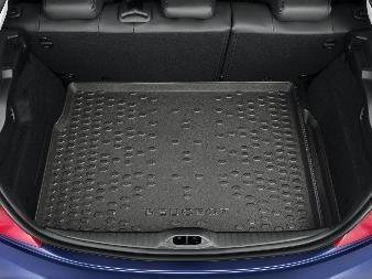 Kofferraummatte Laderaumwanne Passform Kofferraumwanne Peugeot 208 2013