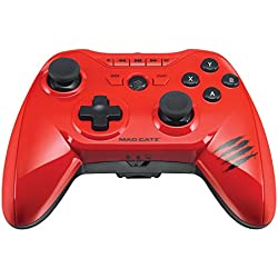 Mad Catz C.T.R.L.R Mobile Gamepad and Game Controller for Android, Fire TV, Samsung, PC, Steam and Gear VR - Red