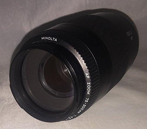Minolta Maxxum AF 75-300mm I 1:4.5-5.6 lens fits all Minolta Maxxum/Dynax AF SLR/DSLR cameras and Sony Alpha A-Mount DSLR/DSLT cameras