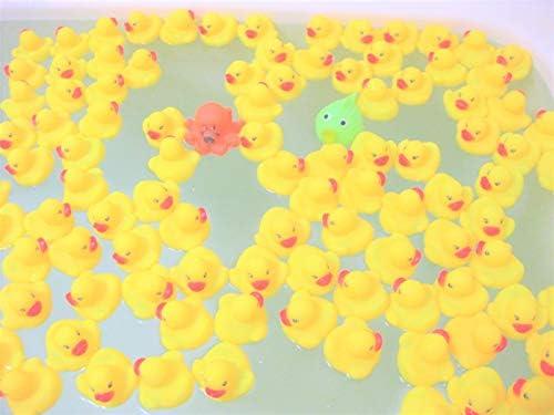 [スポンサー プロダクト]アヒルちゃん 中型 205個 おまけ付き セット ウキウキ お風呂 (205個セット 動物のおまけ5個付き)