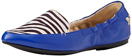 Ballerines Bleu Amber Twists Femme Butterfly zebra cobalt 0HSavqURU