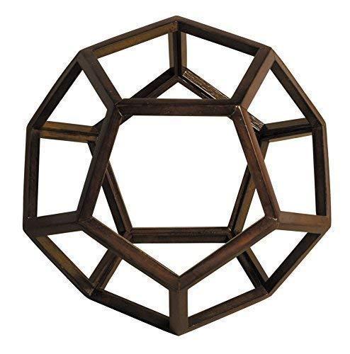 Geometrie Modell eines Pentagon Dodekaeder, Platonischer Körper