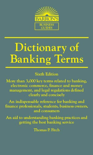 Best deals Dictionary Banking Terms (Barron' Business Dictionaries)