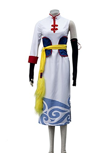 Gintama Movie Cosplay Costume-Leader Chizuru Kagura 5Pcs Set