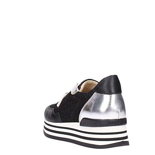 JANETSPORT Janet Sport 41727 Sneakers Frau Schwarz/Silber