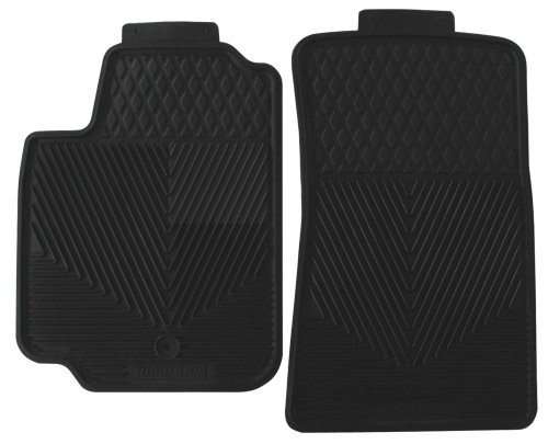 Highland 4602200 All-Weather Black Front Seat Floor Mat ()