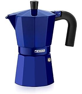 Oroley - Cafetera Italiana Blue Induction | Base de Acero Inoxidable | 9 Tazas | Cafetera Inducción, Vitrocerámica, Fuego y Gas | Estilo Tradicional: Amazon.es: Bricolaje y herramientas