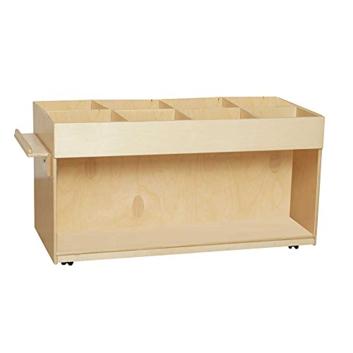 Wood Designs WD74400 Book Browser (Sanded Unit Shelving)